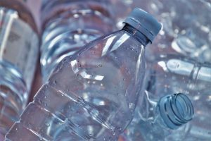 the bottle, plastic, by participating in